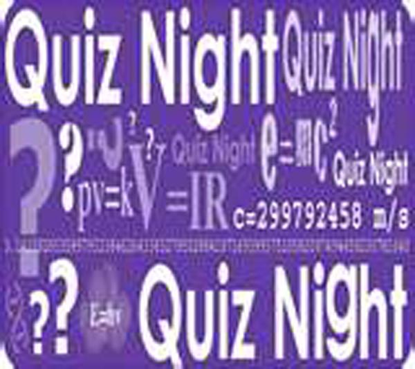 Quiz Night Dates 2019